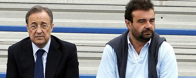 Jose Angel Sanchez si Florentino Perez