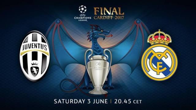 Finala Ligii Campionilor 2017 Juve-Real Madrid