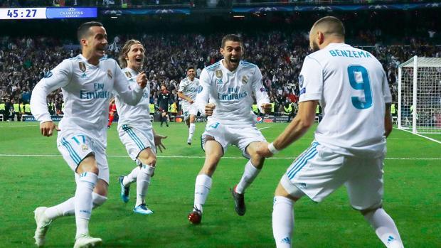Real Madrid - Bayern 2-2
