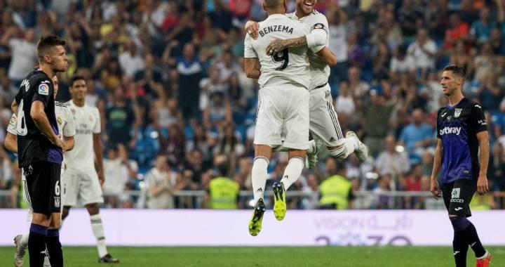 Real Madrid – Leganes 4-1. Dati-i numarul 7 lui Benzema!