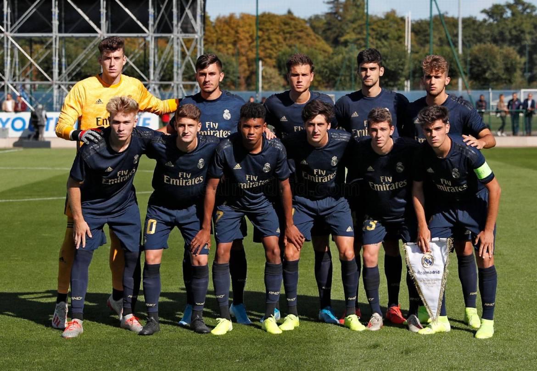 Real Madrid - PSG - Juvenil A - La Fábrica