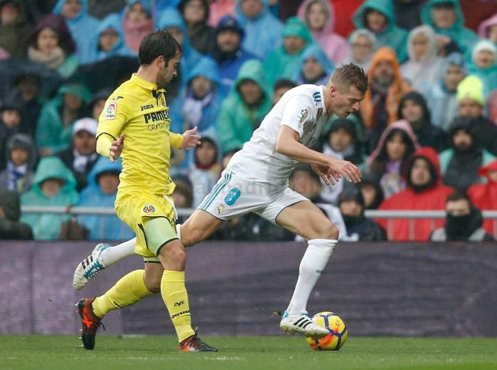Kroos Real Madrid vs Villarreal