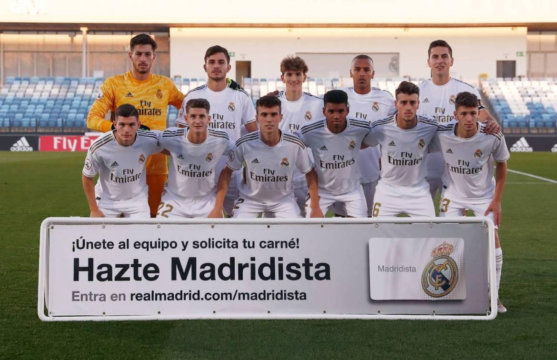 Real Madrid - Real Madrid Castilla - Racing Club de Ferrol - 26-10-2019 La Fábrica