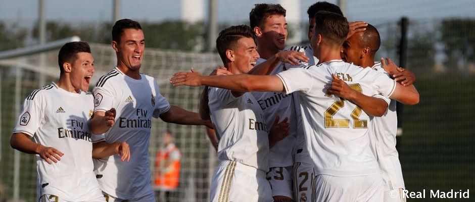 Real Madrid Castilla - Pontevedra. La Fábrica