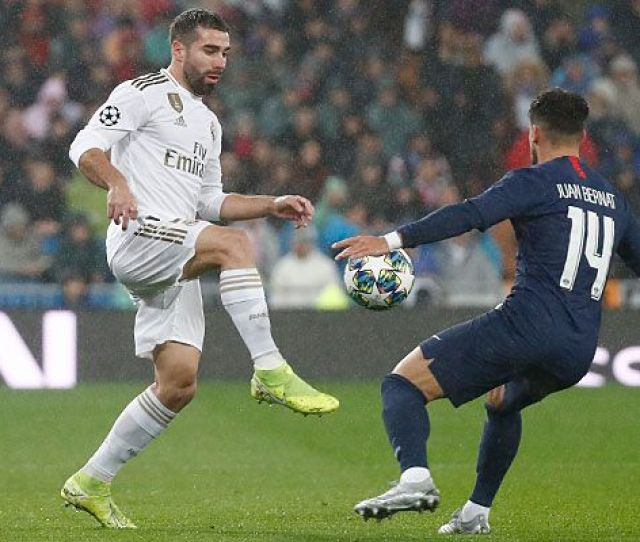 Real Madrid Psg Champions League Putaran  Real Madrid Cf