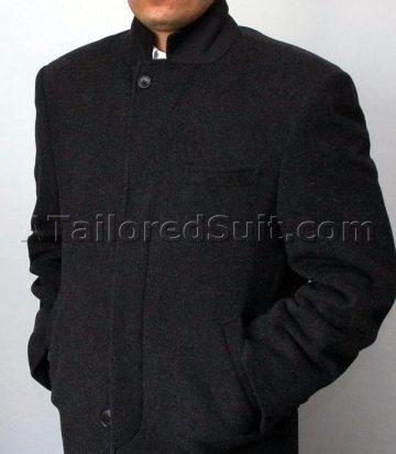 mens overcoat bundled