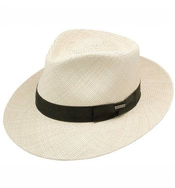 Stetson Retro Panama Straw Hat