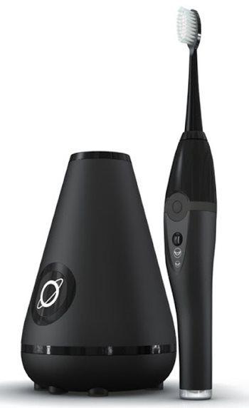 Aura Clean Ultrasonic Toothbrush System (Deep Space Black)