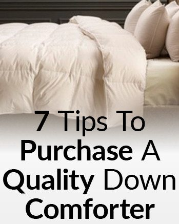 7 Tips For Buying A Quality Down Comforter | Purchasing A Quilt | How to  Choose The Perfect Duvet For Men