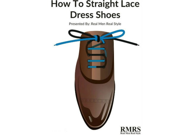 how to lace dress shoes