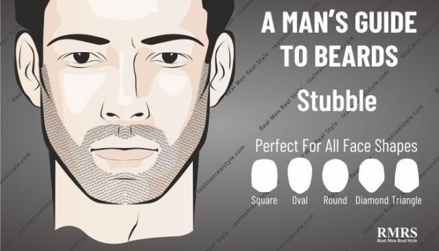 stubble more attractive