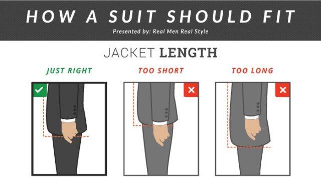 suit jacket fit
