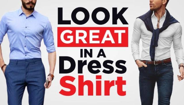 article header dress shirt