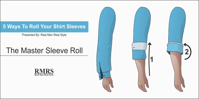 how to roll up sleeves