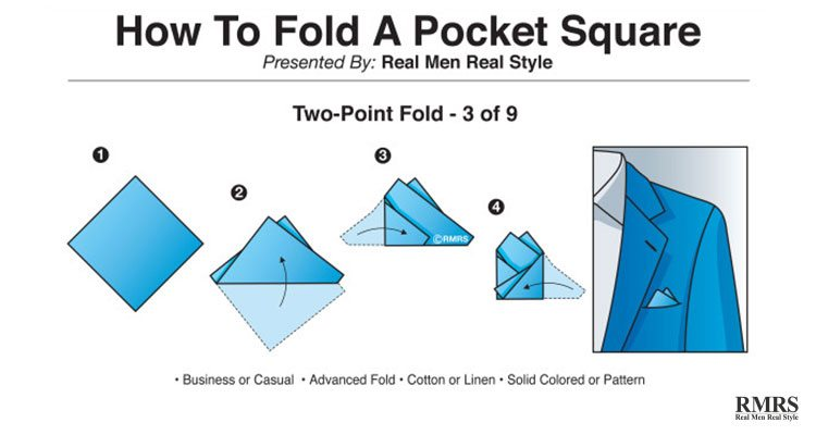 Triangle Pocket For The Men