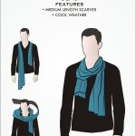10 Manly Ways To Tie A Scarf Masculine Knots For Men Wearing Scarves