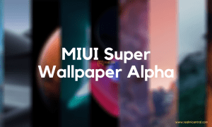 MIUI Super Wallpaper Alpha