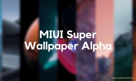 MIUI Super Wallpaper Alpha