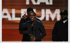 Kendrick Lamar- Best Rap Album