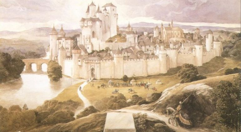 English Professor Reveals The Possible Location Of King Arthur's Camelot