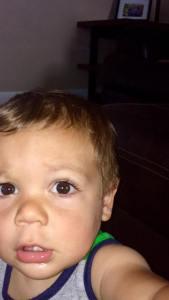 Luca selfie