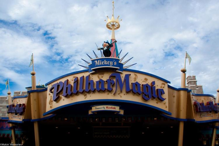 Mickey's Philharmagic Walt Disney World Magic Kingdom
