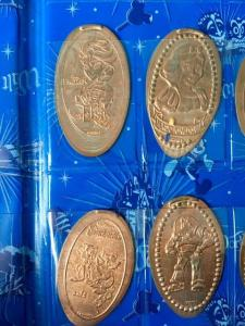 Disney Souvenirs pressed pennies