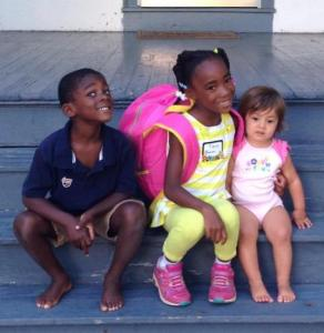 T 1st day of school Real Mom Recs