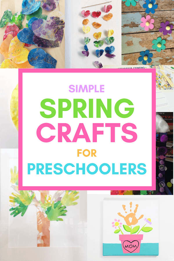 Adorable And Simple Spring Crafts For Preschoolers Real Mom Recs
