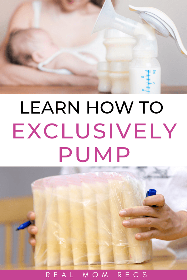 How to exclusively pump