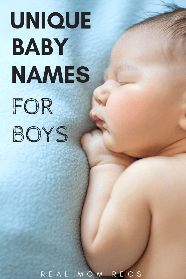 Unique boy names