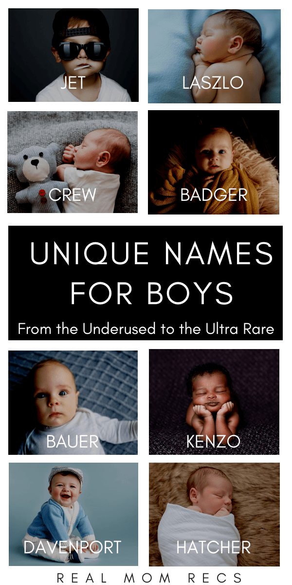 Unique Names For Boys