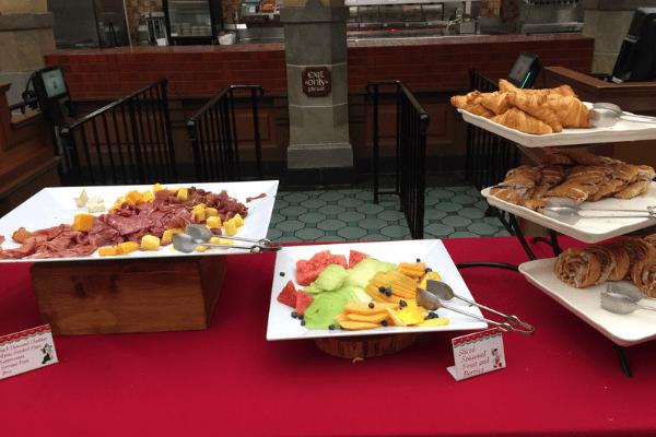 Early Morning Magic buffet