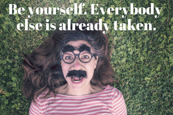 Life Lessons For My Daughters_ Be yourself