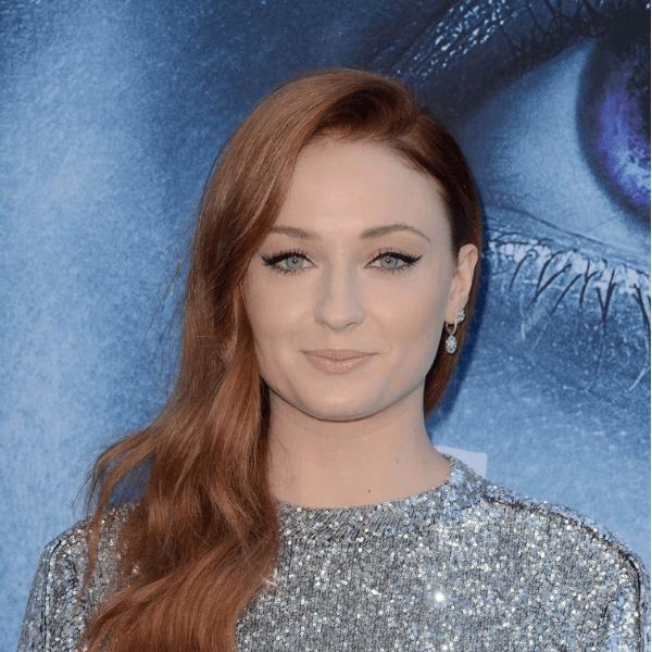 Sansa (played by Sophie Turner)
