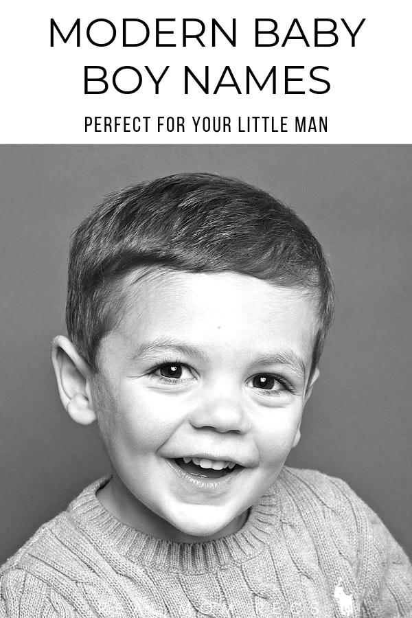 Modern baby boy names