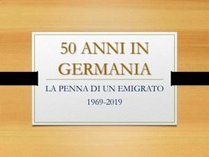 """Salvatore Siracusa """"50 anni in Germania"""""""