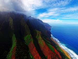 Napali Coast. Photo by Paul Bika