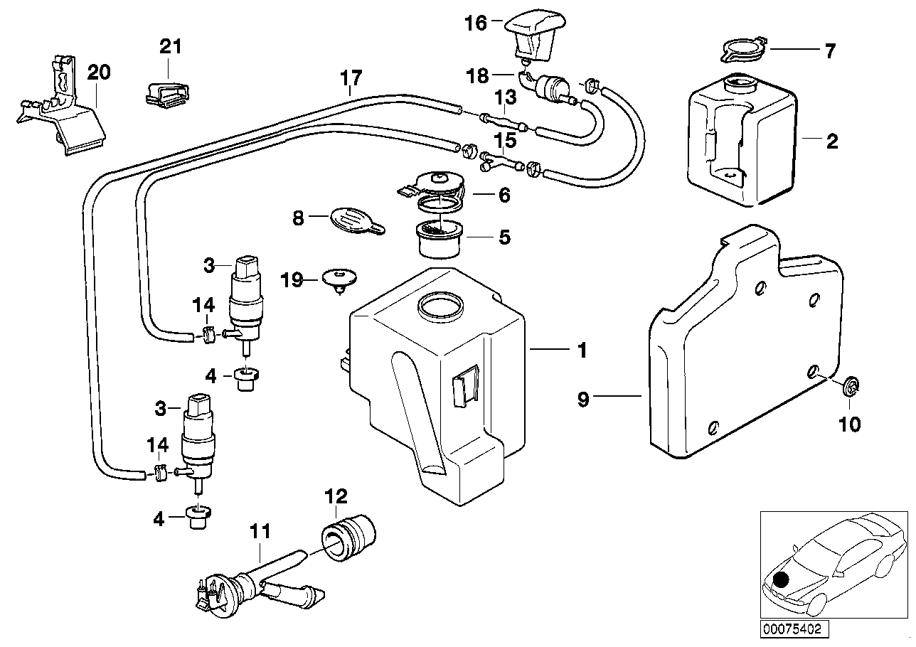 washer nozzle on car wiring diagram database. Black Bedroom Furniture Sets. Home Design Ideas