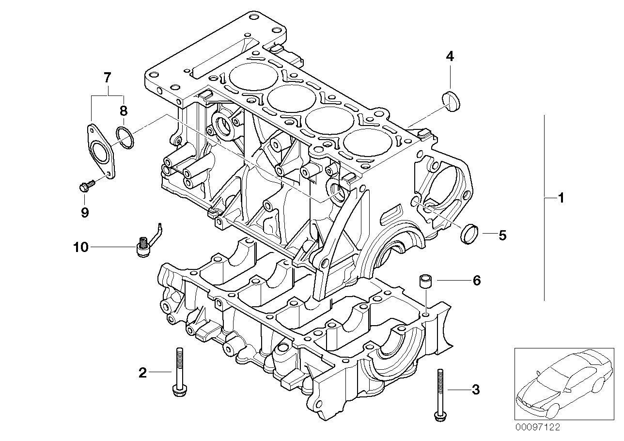 2009 Mini Cooper S Engine Diagram