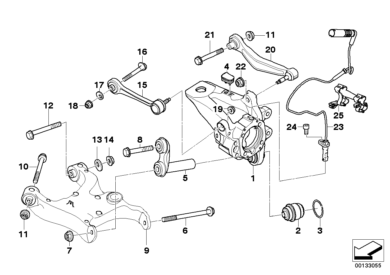 29 Bmw E39 Rear Suspension Diagram