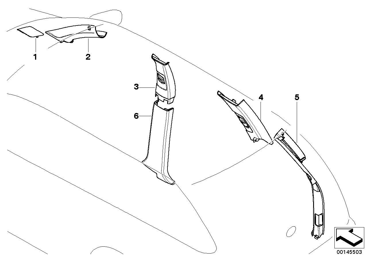 Seatbelt Trim Replacement