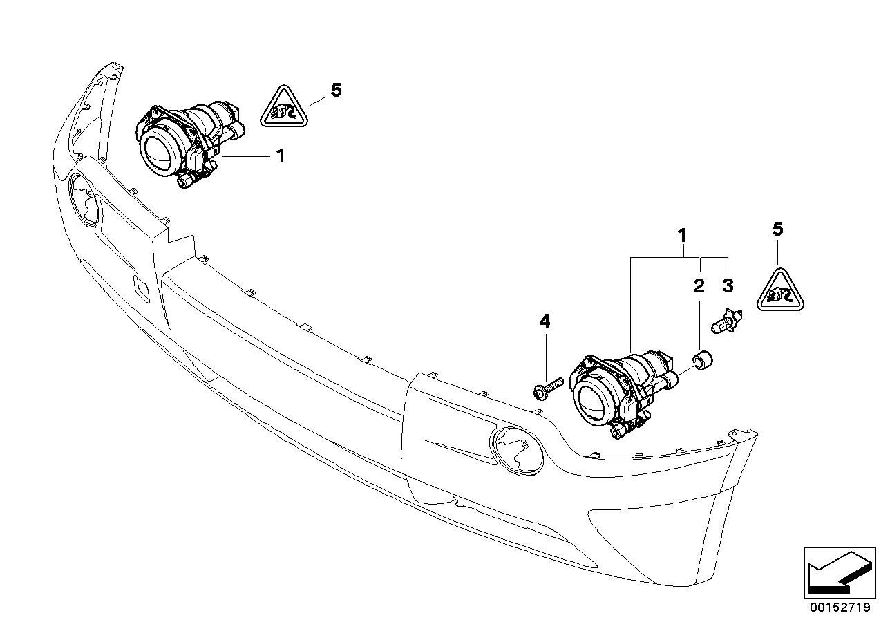 Led Mistlampen H11 Bmw E83