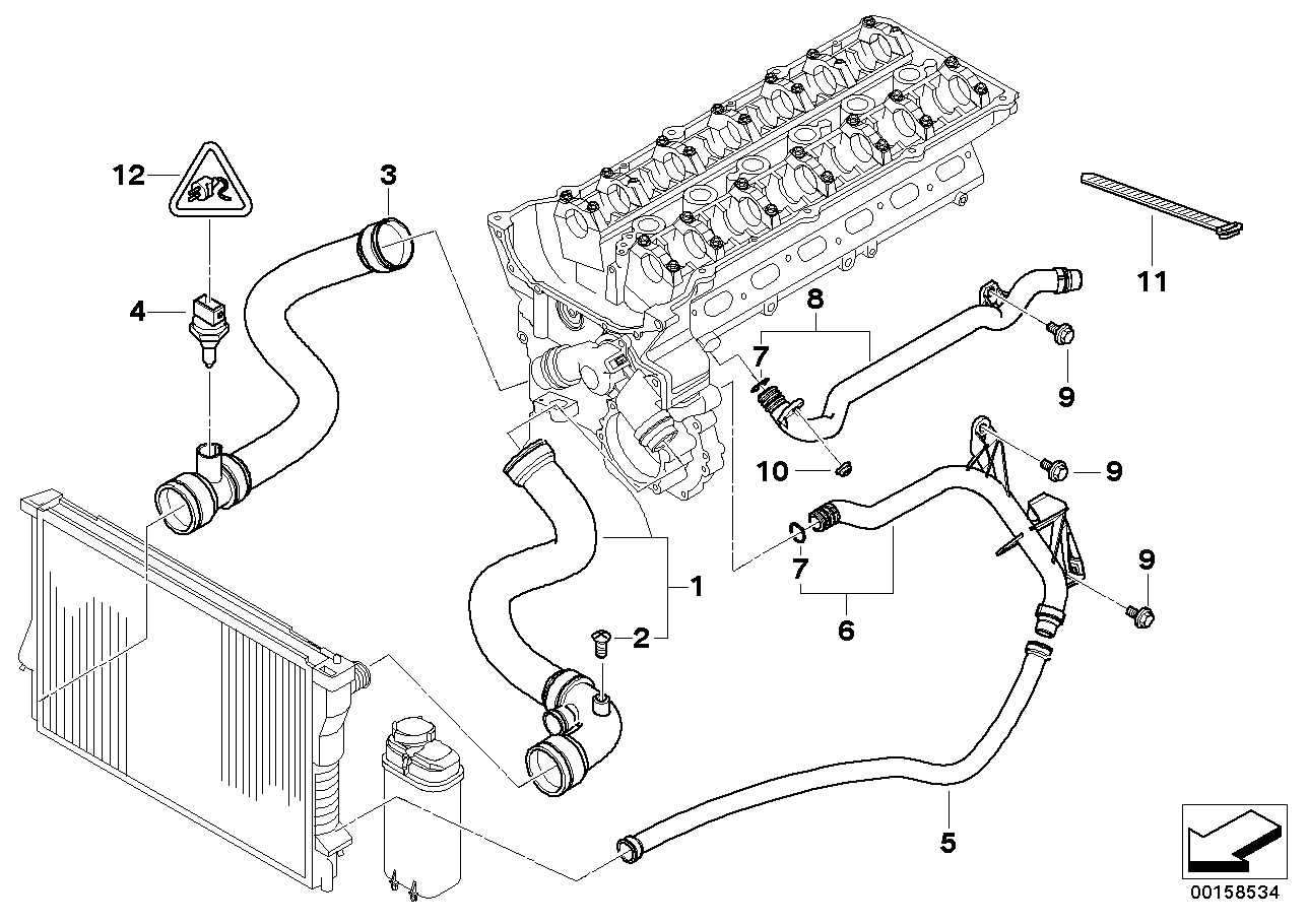 Bmw E46 Intake Hose Diagram