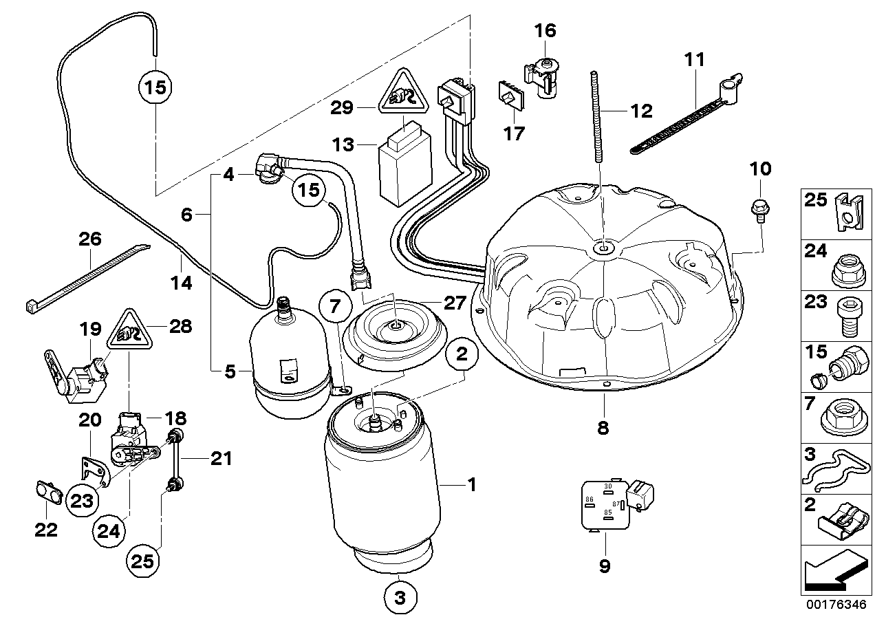 Bmw X5 E53 Rear Suspension Diagram