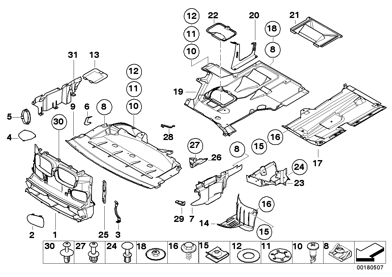 Bmw E39 Parts Diagram