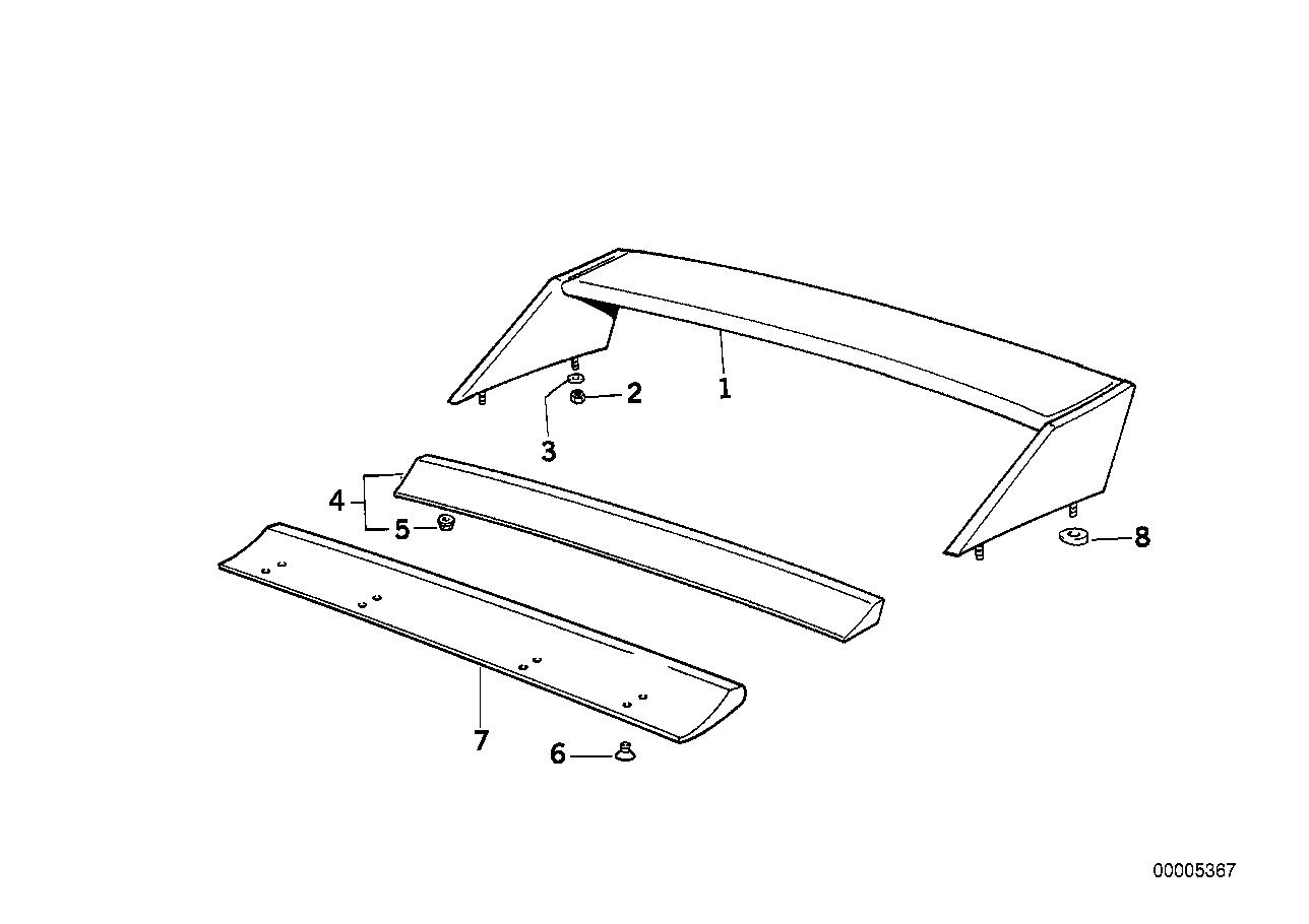 E30 Huge Wing
