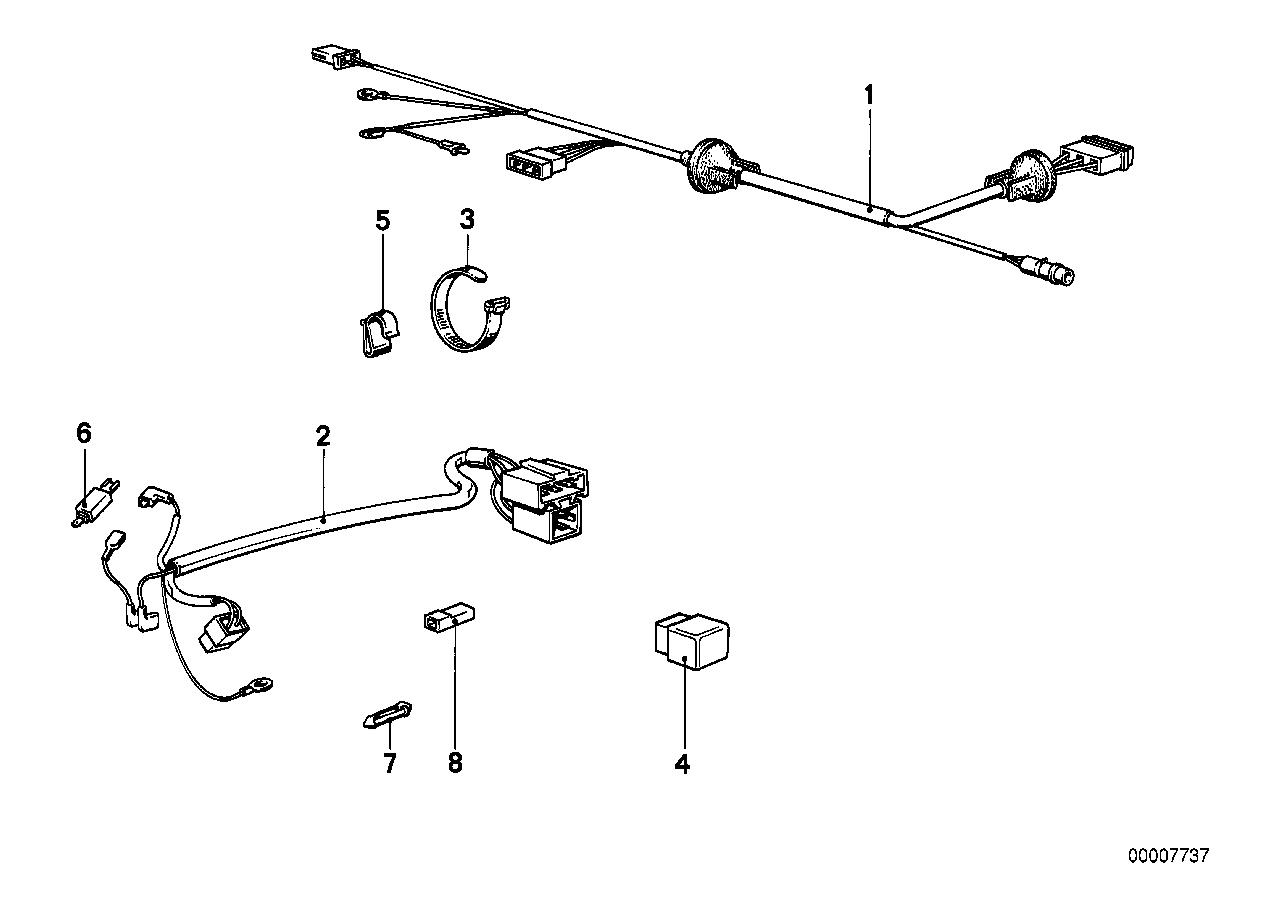 Bmw E28 Wiring Harnes