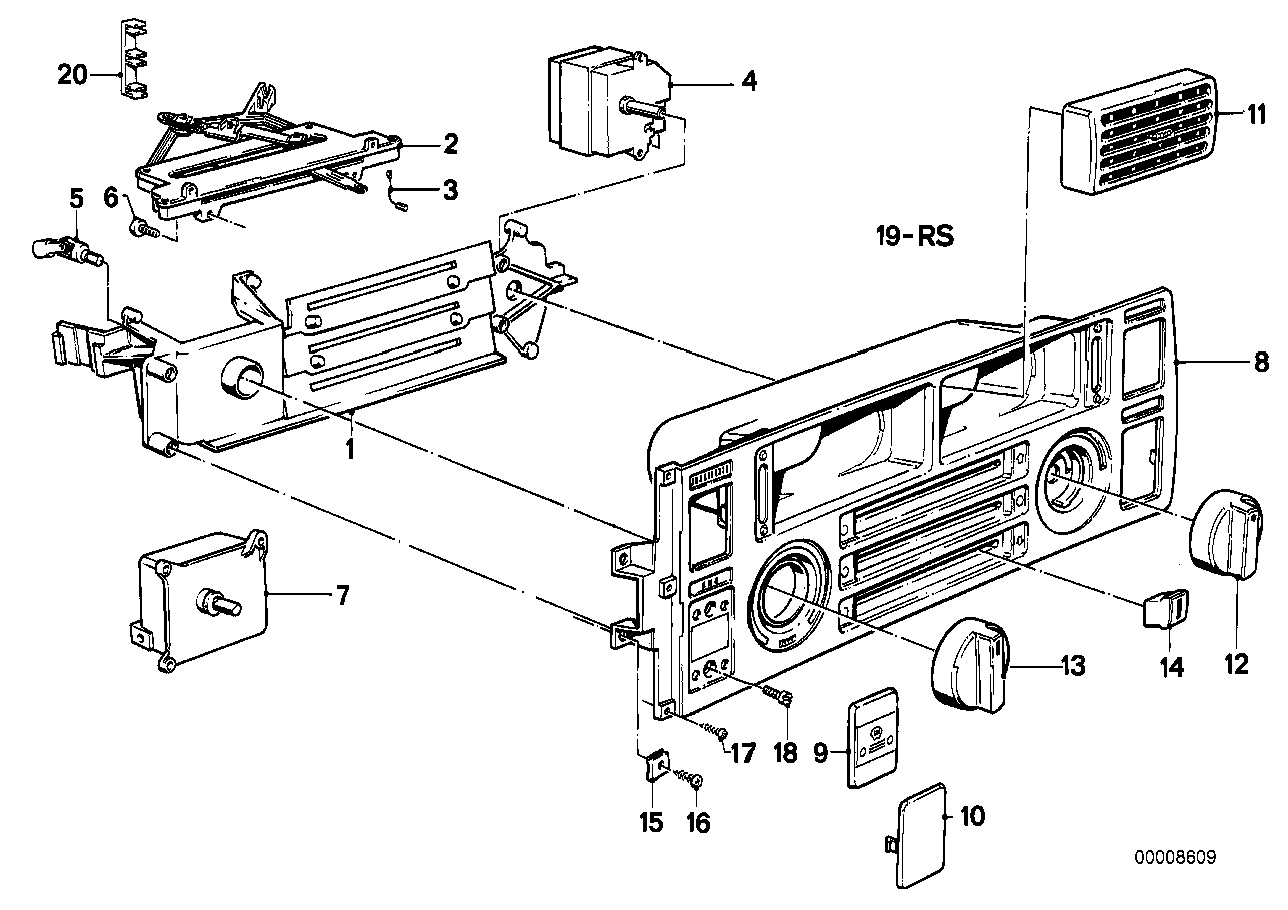 Heating air conditioner actuation