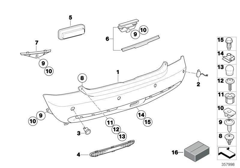 2006 Mini Cooper S Parts Diagram